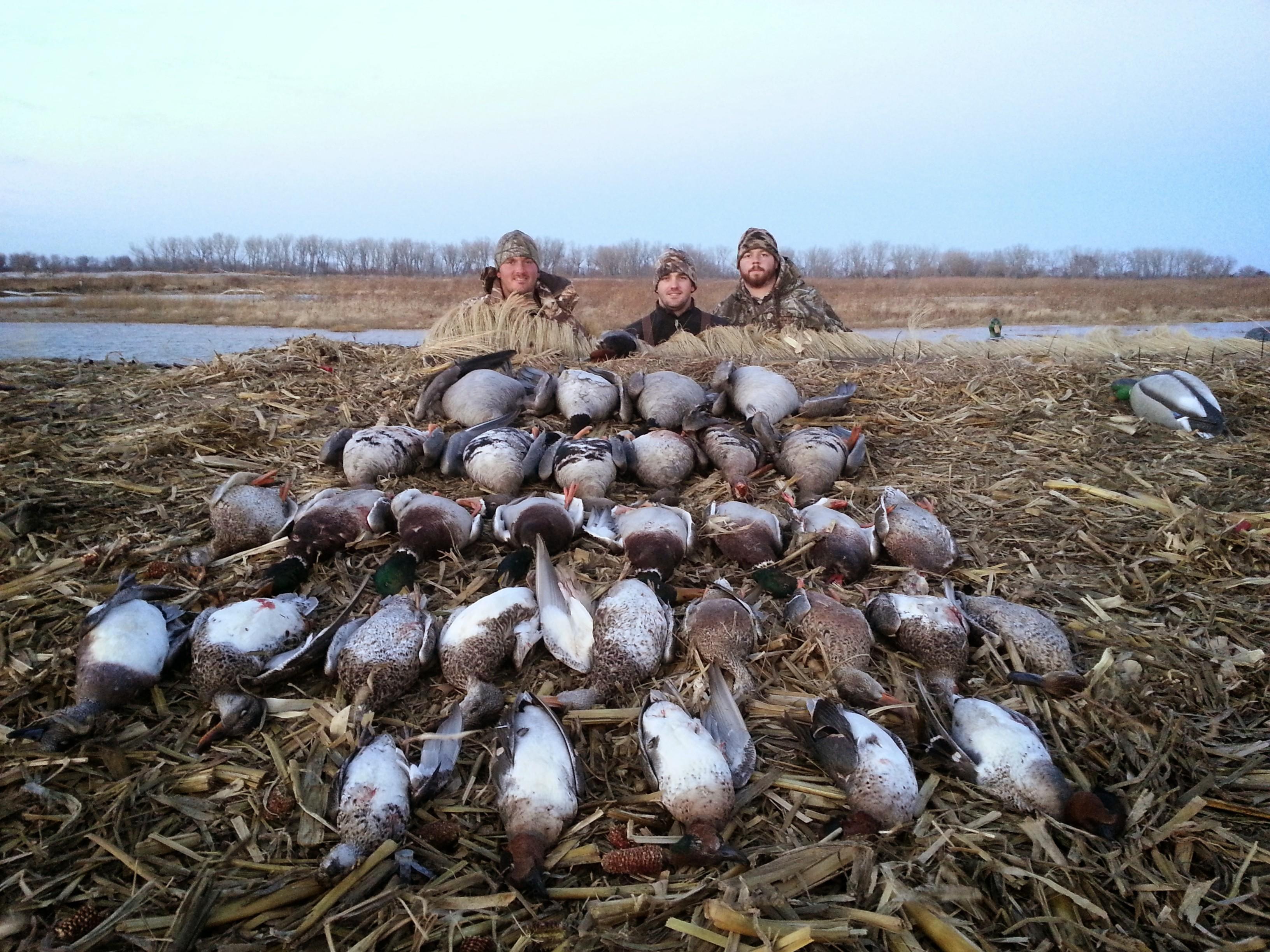 fall waterfowl hunt